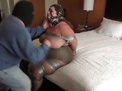 tied in motel apartment