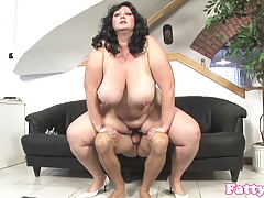 BBW doggystyled until..