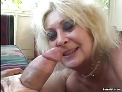Threeway with Granny and BBW