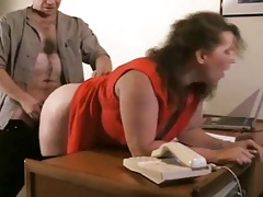 Mature Plus-size boinked