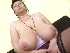 Stunning Czech mature mom..