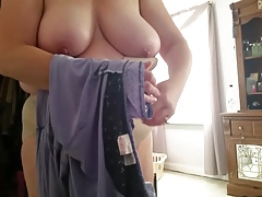 wife squashing into taut..