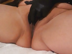 milky mega-slut  gloves fake..