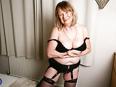 curvaceous Mature Gal Jane..