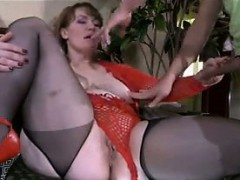 Hefty Crazy Mom Gets Plowed..