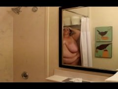 Immense mounds ssbbw bathroom