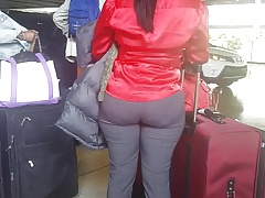 Candid Haitian ass at..