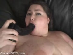 SSBBW cutie takes on a..