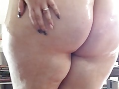 large milky cellulite bootie